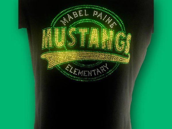 Custom Rhinestone Shirt Designed just for you Custom Bling Shirt Custom Rhinestone T-shirt