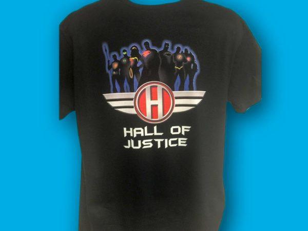 Custom SuperHero Shirt